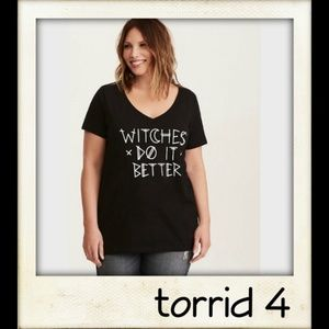 🎨👼🏽 Halloween Witches Do It Better V-neck Tee